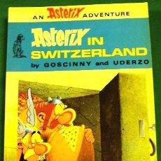 Cómics: COMIC ASTERIX INGLES TAPAS BLANDAS ORIGINAL UK ASTERIX IN SWITZERLAND. Lote 43344201