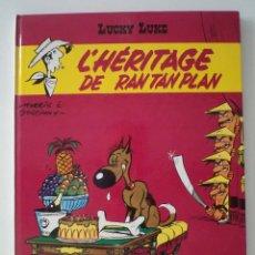 Cómics: LUCKY LUKE. L´HÉRITAGE DE RAN TAN PLAN. DESSINS DE MORRIS. SCÉNARIO DE GOSCINNY. DARGAUD ÉDIT 1973. Lote 44137259