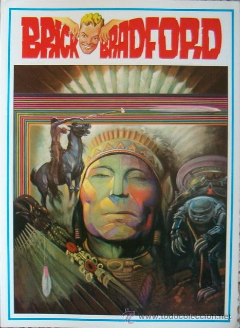 WILLIAM RITT, CLARENCE GRAY. BRICK BRADFORD IN THE MIDDLE OF THE EARTH. Nº 122. RM65989. (Tebeos y Comics - Comics Lengua Extranjera - Comics Europeos)