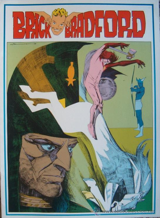 WILLIAM RITT, CLARENCE GRAY. BRICK BRADFORD IN THE LAND OF THE LOST. Nº 51. RM65993. (Tebeos y Comics - Comics Lengua Extranjera - Comics Europeos)