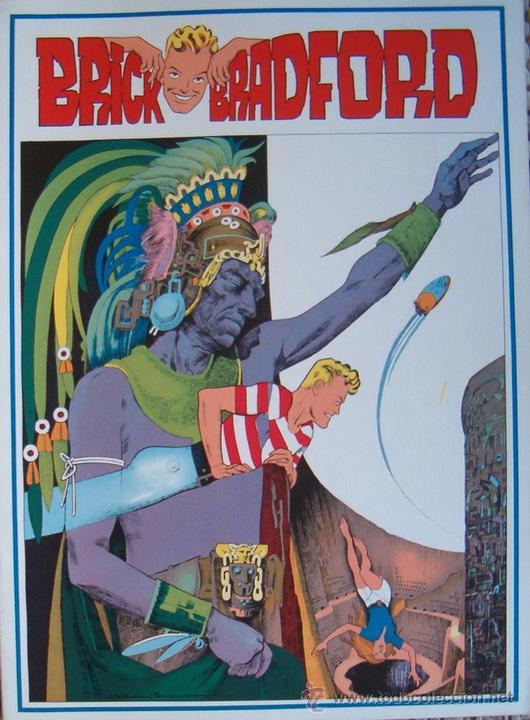 WILLIAM RITT, CLARENCE GRAY. BRICK BRADFORD. Nº 49. RM65995. (Tebeos y Comics - Comics Lengua Extranjera - Comics Europeos)