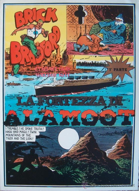 WILLIAM RITT, CLARENCE GRAY. BRICK BRADFORD. Nº 5. RM65998. (Tebeos y Comics - Comics Lengua Extranjera - Comics Europeos)