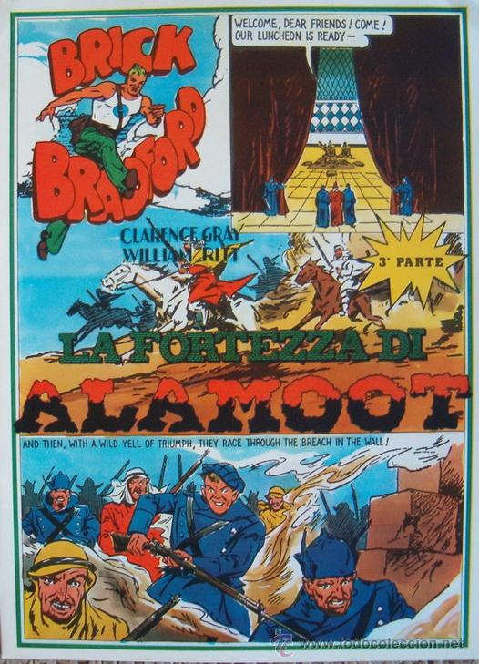WILLIAM RITT, CLARENCE GRAY. BRICK BRADFORD. Nº 7. RM66000. (Tebeos y Comics - Comics Lengua Extranjera - Comics Europeos)