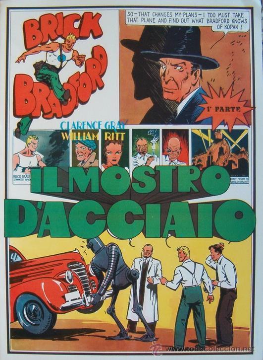 WILLIAM RITT, CLARENCE GRAY. BRICK BRADFORD. Nº 8. RM66001. (Tebeos y Comics - Comics Lengua Extranjera - Comics Europeos)