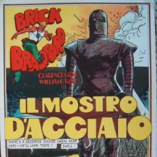 Cómics: # WILLIAM RITT, CLARENCE GRAY. BRICK BRADFORD: IL MOSTRO D'ACCIAIO. Nº 9. RM66002. . Lote 44412025