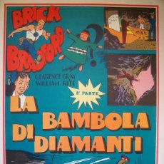 Cómics: WILLIAM RITT, CLARENCE GRAY. BRICK BRADFORD: LA BAMBOLA DE DIAMANTI. 2ª PARTE. Nº 20. RM66005. . Lote 44412579