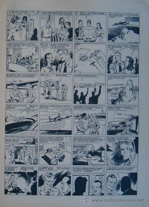 Cómics: WILLIAM RITT, CLARENCE GRAY. Brick Bradford: Il Trono di Titania. 1ª Parte. Nº 25. RM66006. - Foto 2 - 44412657