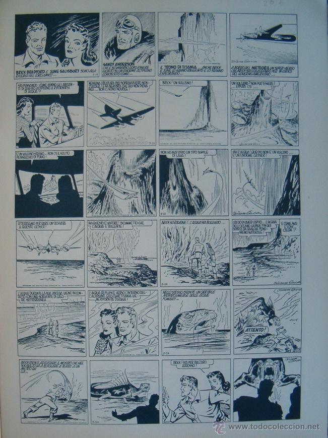 Cómics: WILLIAM RITT, CLARENCE GRAY. Brick Bradford: Il Trono di Titania. 2ª Parte. Nº 26. RM66007. - Foto 2 - 44412731
