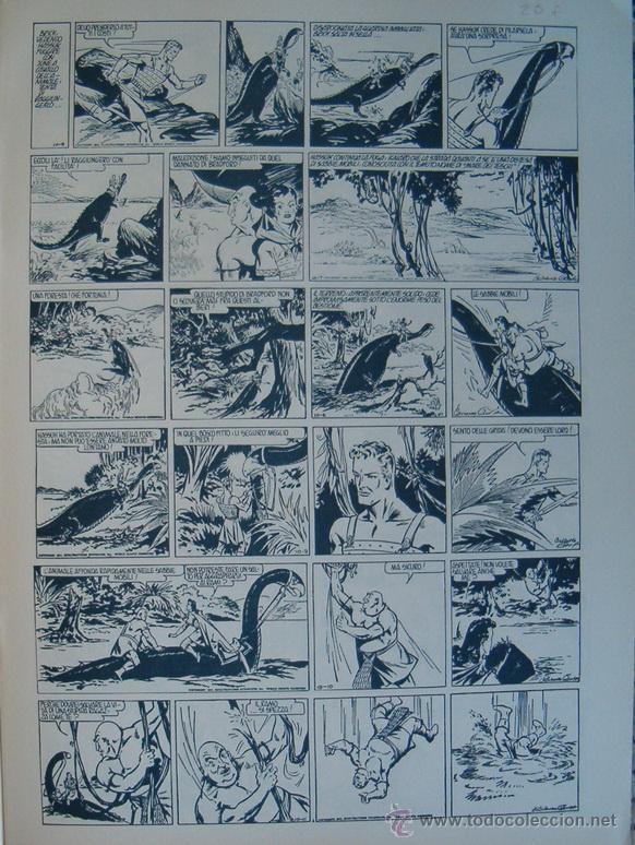 Cómics: WILLIAM RITT, CLARENCE GRAY.Brick Bradford: Il Trono di Titania. 3ª Parte. Nº 27. RM66008. - Foto 2 - 44412864