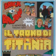 Cómics: WILLIAM RITT, CLARENCE GRAY. BRICK BRADFORD: IL TRONO DI TITANIA. 4ª PARTE. Nº 28. RM66009. . Lote 44412934