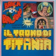 Cómics: WILLIAM RITT, CLARENCE GRAY. BRICK BRADFORD: IL TRONO DI TITANIA. 5ª PARTE. Nº 29. RM66010. . Lote 44413014