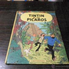 Cómics: TINTIN ET LES PICAROS. CASTERMAN. 1976. Lote 44898284