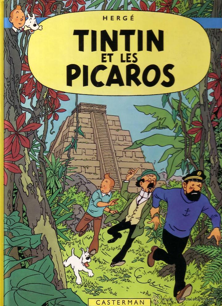 TINTIN ET LES PICAROS - CASTERMAN (ORIGINAL FRANCES) 1984 (Tebeos y Comics - Comics Lengua Extranjera - Comics Europeos)
