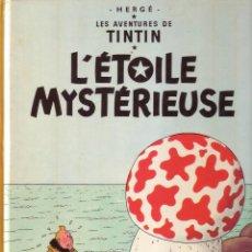 Cómics: TINTIN ET L'ÉTOILE MYSTÉRIEUSE - CASTERMAN (ORIGINAL FRANCES) 1980. Lote 45124639