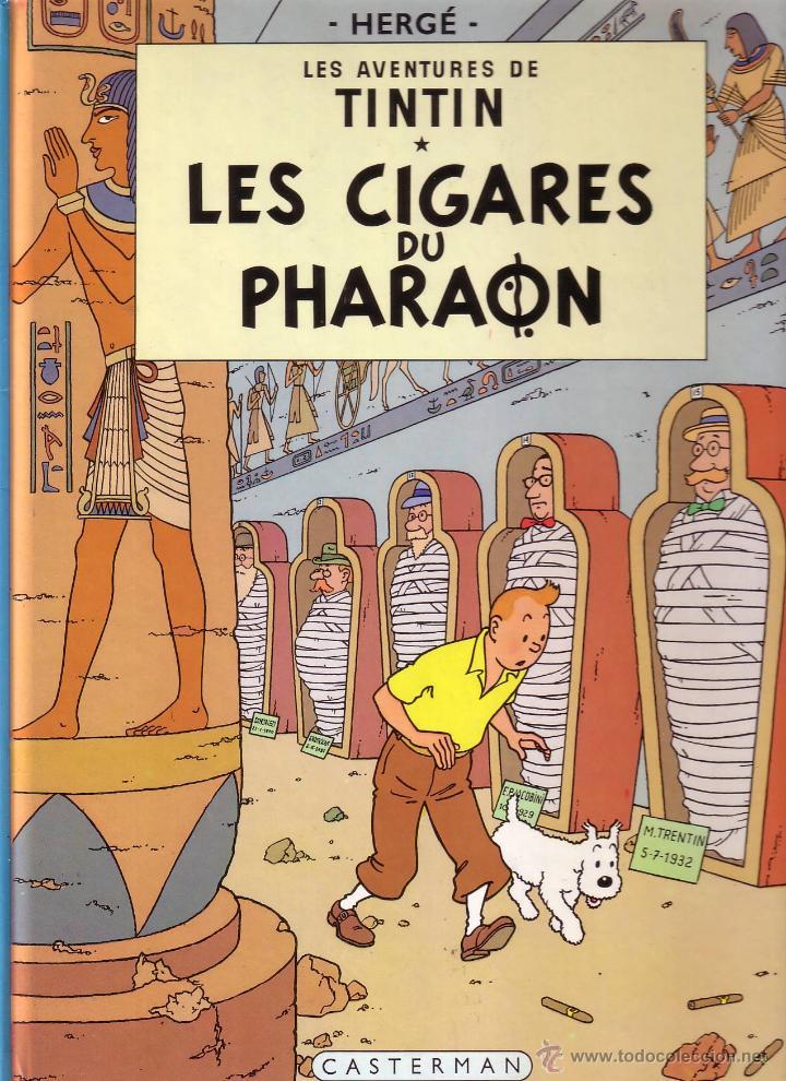 TINTIN ET LES CIGARES DU PHARAON - CASTERMAN (ORIGINAL FRANCES) 1983 (Tebeos y Comics - Comics Lengua Extranjera - Comics Europeos)