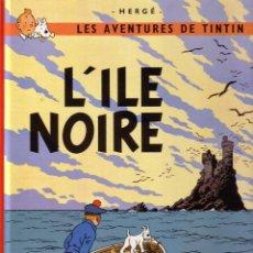 Cómics: TINTIN - L'ILE NOIRE - CASTERMAN (ORIGINAL FRANCES) 1984. Lote 45124738