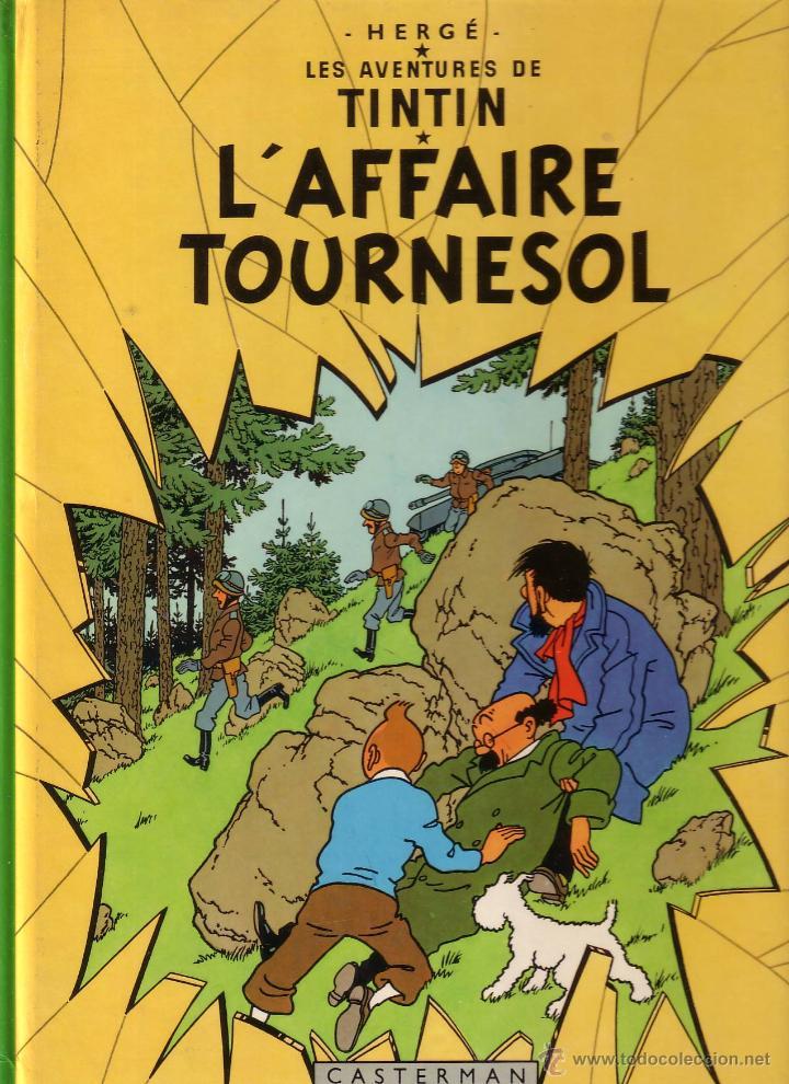 TINTIN ET L'AFFAIRE TOURNESOL - CASTERMAN (ORIGINAL FRANCES) 1983 (Tebeos y Comics - Comics Lengua Extranjera - Comics Europeos)