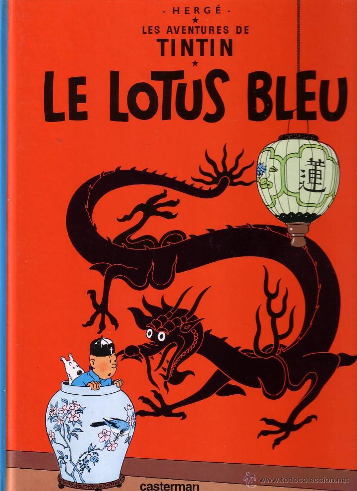 TINTIN ET LE LOTUS BLEU - CASTERMAN (ORIGINAL FRANCES) 1984 (Tebeos y Comics - Comics Lengua Extranjera - Comics Europeos)