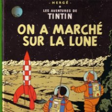 Cómics: TINTIN - ON A MARCHÉ SUR LA LUNE - CASTERMAN (ORIGINAL FRANCES) 1984. Lote 45124871