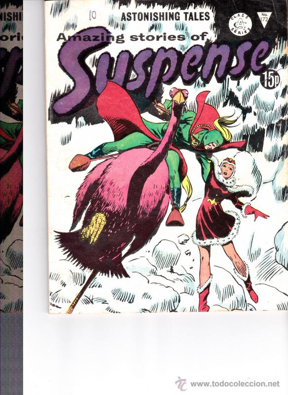 AMAZING STORIES OF SUSPENSE Nº 172 (Tebeos y Comics - Comics Lengua Extranjera - Comics Europeos)