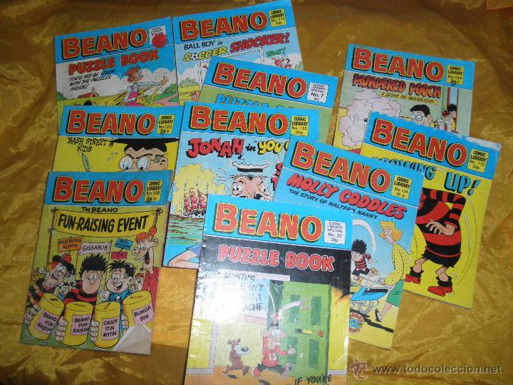 LOTE DE 11 Nº DE : BEANO. EDICION INGLESA * (Tebeos y Comics - Comics Lengua Extranjera - Comics Europeos)