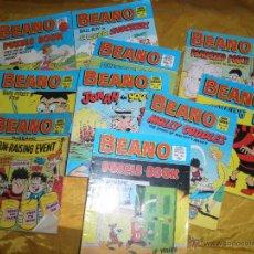 Cómics: LOTE DE 11 Nº DE : BEANO. EDICION INGLESA *. Lote 45616016
