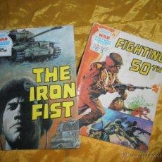 Cómics: LOTE DE 2 Nº DE WAR : THE IRON FIST Y FIGHTING 50TH. EDICION INGLESA *. Lote 45630433