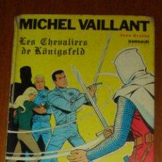 Cómics: MICHEL VAILLANT. LES CHEVALIERS DE KÖNIGSFELD. UNE HISTOIRE DU JOURNAL TINTIN. JEAN GRATON, 1967. Lote 45775113