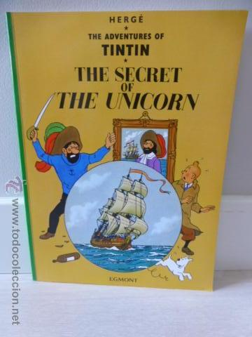 TINTIN: THE SECRET OF THE UNICORN. HERGÉ. EDITORIAL EGMONT (Tebeos y Comics - Comics Lengua Extranjera - Comics Europeos)