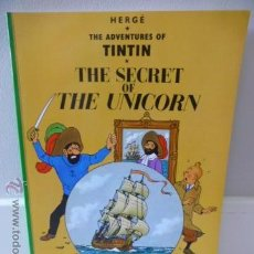 Cómics: TINTIN: THE SECRET OF THE UNICORN. HERGÉ. EDITORIAL EGMONT. Lote 45821142