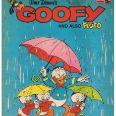 Comics : GOOFY AND ALSO PLUTO. INGLÉS. (RF.MA). Lote 45932039