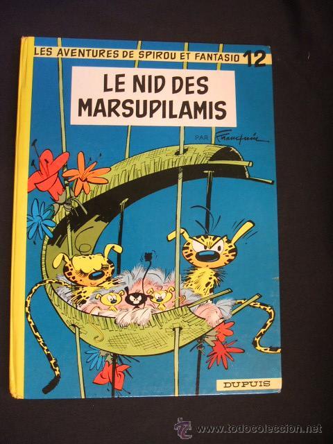 SPIROU ET FANTASIO - Nº 12 - LE NID DES MARSUPILAMIS - DUPUIS - 1964 - EN FRANCES - (Tebeos y Comics - Comics Lengua Extranjera - Comics Europeos)