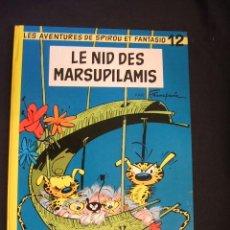 Cómics: SPIROU ET FANTASIO - Nº 12 - LE NID DES MARSUPILAMIS - DUPUIS - 1964 - EN FRANCES - . Lote 46186813