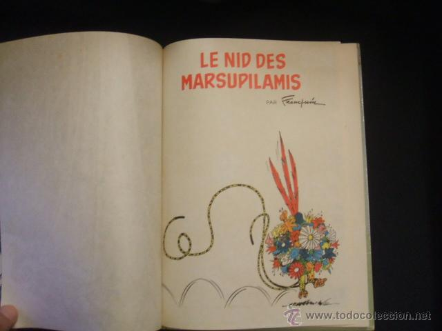 Cómics: SPIROU ET FANTASIO - Nº 12 - LE NID DES MARSUPILAMIS - DUPUIS - 1964 - EN FRANCES - - Foto 3 - 46186813