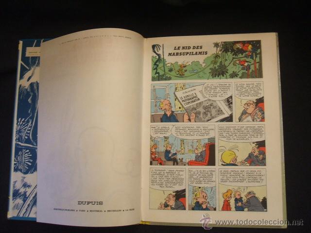 Cómics: SPIROU ET FANTASIO - Nº 12 - LE NID DES MARSUPILAMIS - DUPUIS - 1964 - EN FRANCES - - Foto 4 - 46186813
