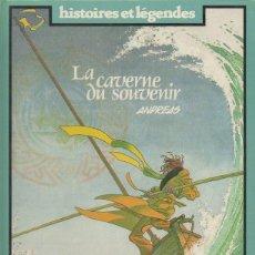 Cómics: LA CAVERNE DU SOUVENIR. ANDREAS. LOMBARD, 1ª ED., 1985. COLECCIÓN HISTOIRES ET LÉGENDES [FRANCÉS]. Lote 46286544