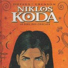 Cómics: NIKLOS KODA TOME 2, LE DIEU DES CHACALS. OLIVIER GRENSON, JEAN DUFAUX LOMBARD,2001 [FRANCÉS]. Lote 46405862