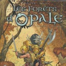 Cómics: LES FORÊTS D'OPALE, TOME 1: LE BRACELET DE COHARS. ARLESTON, PELLET SOLEIL, 1ª ED., 2004 [FRANCÉS]. Lote 46487369