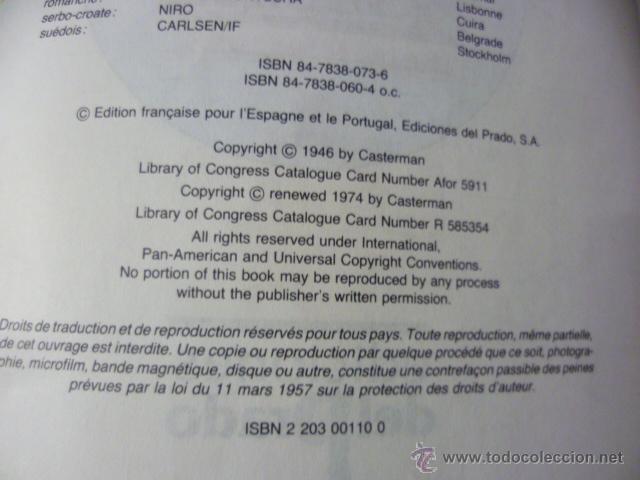 Cómics: TINTIN - LE SECRET DE LA LICORNE - EN FRANCES - ED. DEL PRADO - Foto 2 - 47042773