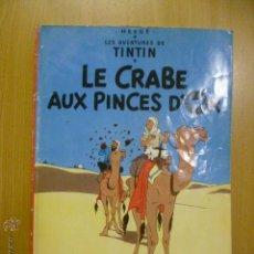 Cómics: TINTIN - LE CRABE AUX PINCES D'OR (EN FRANCES) DEL PRADO. Lote 47042745