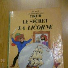 Cómics: TINTIN - LE SECRET DE LA LICORNE - EN FRANCES - ED. DEL PRADO. Lote 47042773