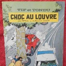 Cómics: TIF ET TONDU. CHOC AU LOUVRE - WILL, ROSY (DUPUIS, 1966). Lote 47371593