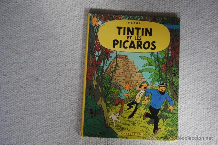 TINTIN ET LES PICAROS CASTERMAN 1976 EN FRANCES (Tebeos y Comics - Comics Lengua Extranjera - Comics Europeos)