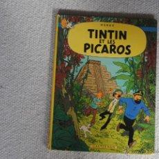 Cómics: TINTIN ET LES PICAROS CASTERMAN 1976 EN FRANCES. Lote 47448020
