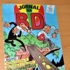 Cómics: JORNAL DA BD Nº 171 - CON AVENTURA COMPLETA DE MORTADELO Y FILEMÓN EN PORTUGUÉS - PORTUGAL 1985. Lote 47516346