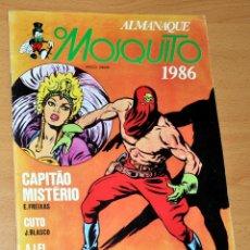 Cómics: ALMANAQUE O MOSQUITO 1986 - CON CAPITÁN MISTERIO DE EMILIO FREIXAS Y CUTO DE JESÚS BLASCO - PORTUGAL. Lote 47516587