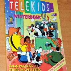 Cómics: ALMANAQUE INVIERNO 1993 DE TELEKIDS - CON MORTADELO Y FILEMÓN EN HOLANDÉS - HOLANDA 1993. Lote 47517058