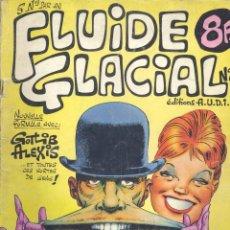 Cómics: FLUIDE GLACIAL Nº4. EDITIONS AUDIE, 1976. GOTLIB, ALEXIS E HISTORIETA PROTAGONIZADA POR LOS BEATLES. Lote 47754705