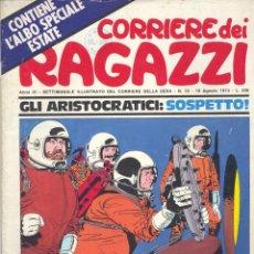 Cómics: CORRIERE DEI RAGAZZI Nº18. AÑO 1974. REVISTA ITALIANA. Lote 47754811
