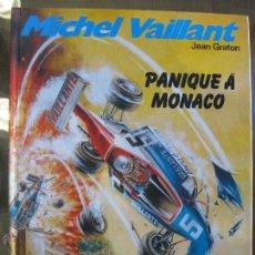 Cómics: MICHEL VAILLANT PANIQUE A MONACO Nº47 AÑO 1986 - TAPA DURA. Lote 47774458